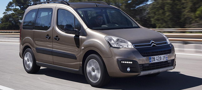 Citroën Berlingo, tu coche de alquiler para seis pasajeros