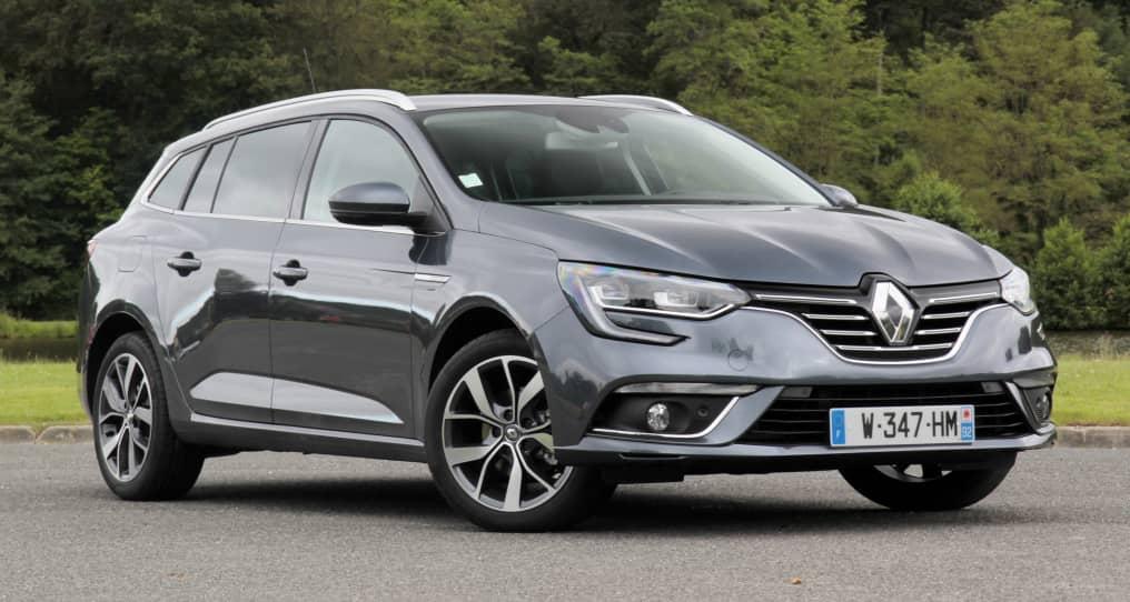 Alquila un Renault Megane ST gris para tus vacaciones