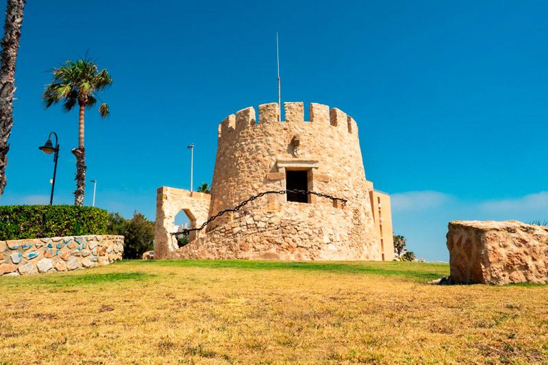 Torre del Moro de Torrevieja, uno de los lugares imprescindibles que visitar