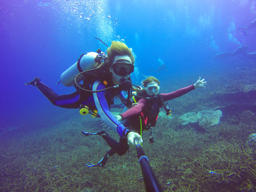Actividades acuáticas y buceo en Playa Flamenca