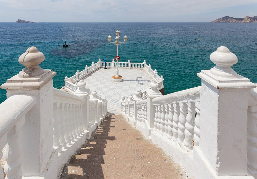 Visita el Balcón del Mediterráneo de Benidorm