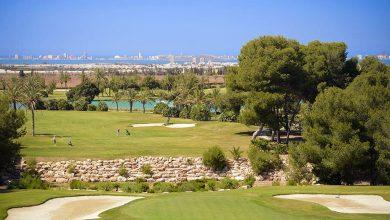 Campo de golf en La Manga