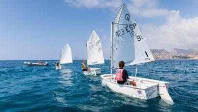 Eventos deportivos en las aguas de la Villa del Peñón de Ifach