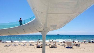 Playa del Postiguet de Alicante, una de las más conocidas