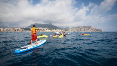 Gran variedad de deportes náuticos en Calpe