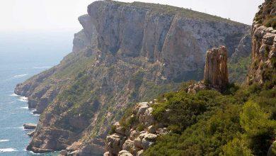 Ruta por el acantilado de Moraira y Teulada